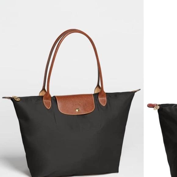762a87a6741 Bags   Black Longchamp Bag   Poshmark